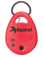 Kestrel DROP D2 Wireless Temperature & Humidity Data Logger (Red)
