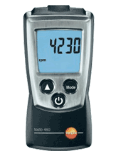 Testo 460 Photo Tachometer, 30,000 RPM
