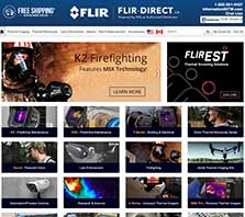 Flir-Direct.ca - Carrying a full selection of FLIR Thermal Imagers and Test Tools
