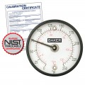 Baker 312FC Magnetic Surface Thermometer, °C with NIST Traceable Certificate