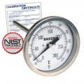 Baker T3004-550 Bimetal Thermometer, 50 to 550°F (0 to 260°C) with NIST Traceable Certificate