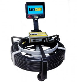 Easycam e5150 sewer camera for 4 and larger pipe hand for 5150 water pipes