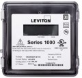 Leviton 1R277-081 Outdoor Single Element kWh Meter, MAX 800A, Meter Only