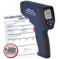 REED R2007 Dual Laser Infrared Thermometer, 50:1,  2012°F (1100°C), includes NIST Traceable Certification