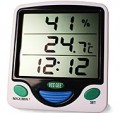 VEE GEE 84004 Min Max Digital Thermo-Hygrometer Clock