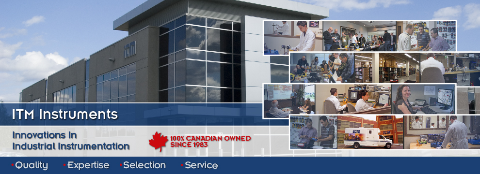 ITM Instruments is 100% Canadian owned since 1983, offering quality, expertise, selection and service