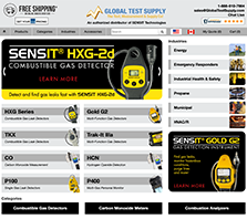SENSIT-Direct.ca - SENSIT Technologies offers a full line of quality, made in the USA products from confined space monitors to combustible gas leak detectors.