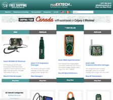 ShopExtech.ca - Extech Instruments Distributors