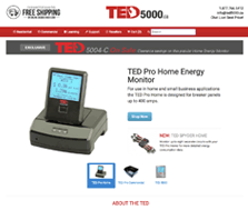 TED5000.ca - Home and Commercial Energy Monitors