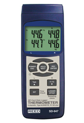REED SD-947 Thermocouple Temperature Data Logger