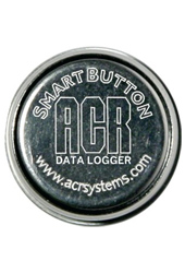 ACR Systems SmartButton Temperature Data Logger