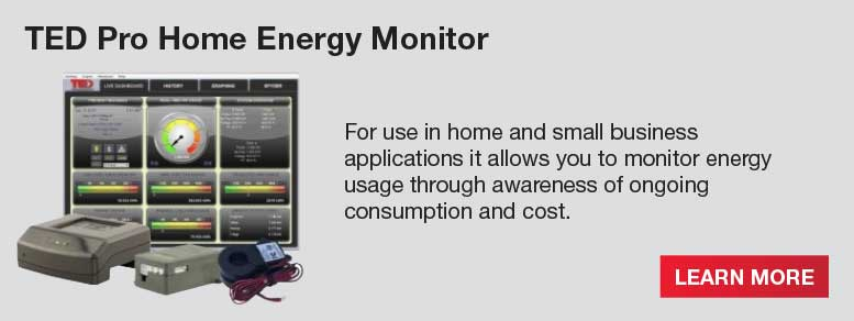 Home Energy Monitor : Ted the energy detective home monitoring