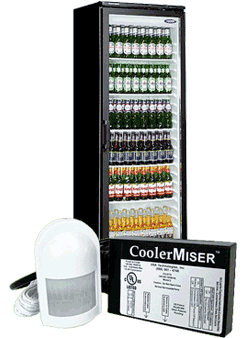 CoolerMiser Energy Monitor for Glass Front Cooler Units
