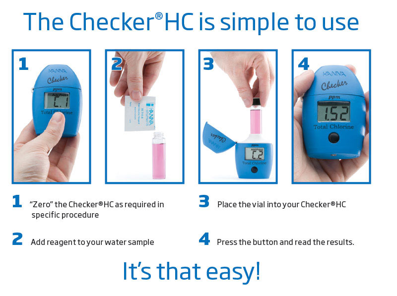 Hanna HI701 Free Chlorine Checker® HC