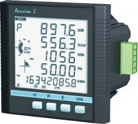 accuenergy acuvim ii d 1a p1 intelligent lcd power meter