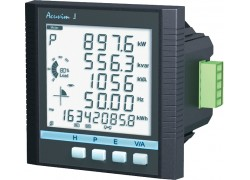 AccuEnergy Acuvim II-D-5A-P1 Intelligent LCD Power Meter, 5A Input, 10-415V AC, 50/60Hz, 100-300V DC-