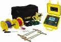 AEMC 4620 Battery Powered Ground Resistance Tester Kit, 4-Point, 300 ft