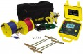 AEMC 4620 Battery Powered Ground Resistance Tester Kit, 4-Point, 500ft