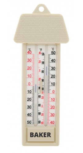 baker mm2 max min thermometer. Black Bedroom Furniture Sets. Home Design Ideas