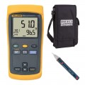 Fluke 51-2-KIT2 Single Input Thermometer Kit - Includes FREE Products with Purchase-