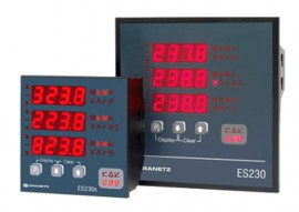 Dranetz Encore® ES2301A Power Quality Monitoring System, 1A, No Communications, 144mm x 144mm-