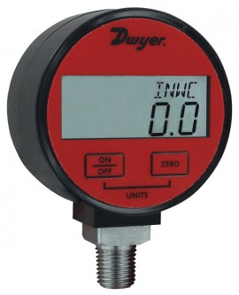 Dwyer DPGA-10 Digital Pressure Gauge for Air/Gas with 1% Accuracy, 0 to 300  psi