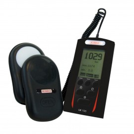 E Instruments LX 100 Class C Digital Lux Meter, 0.1 to 150,000 lux-