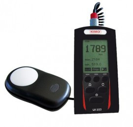 E Instruments LX 200 Class B Digital Lux Meter, 0.1 to 200,000 lux-