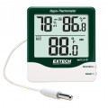Extech 445713-TP Big Digit Indoor/Outdoor Hygro-Thermometer-