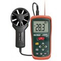 Extech AN200-NIST CFM/CMM Mini Thermo-Anemometer with IR Thermometer, -