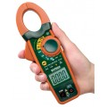 Extech EX730 True RMS Clamp Meter with Temperature and DC Zero, 800A-