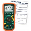Extech EX355-NIST TRMS Multimeter with Temperature & NCV, 12 Functions,  -