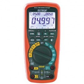 Extech ex540 true rms multimeter data logger with wireless for Savio 724 ex manuale