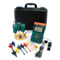 "Extech PQ3350-1-NIST 3-Phase Power & Harmonics Analyzer with 12"" Flexible Current Clamp Probes, with NIST Certificate-"