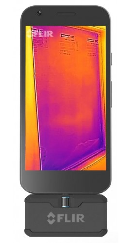 Flir One Pro Lt Android Usb C Pro Grade Thermal Camera For