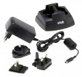 FLIR T197650 2-Bay Battery Charger with Multi-Plugs Power Supply -