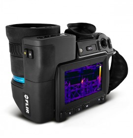 FLIR T1020SC HD Thermal Imaging Camera with 12° lens, viewfinder, HIS, and ResearchIR Max, 1024 × 768-