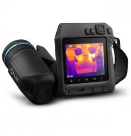 FLIR T540SC Professional Thermal Camera with 14, 24, and 42° lenses and ResearchIR Max software, 464 x 348-