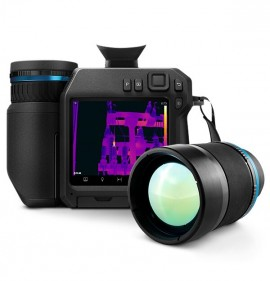 FLIR T840SC High Performance Thermal Camera with 14 and 24° lenses as well as a viewfinder and ResearchIR Max software, 464 x 348-
