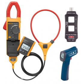 Fluke 381 Remote Display True RMS AC/DC Clamp Meter Kit - Includes FREE  Products with Purchase
