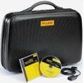 Fluke SCC190 Carrying Case, FlukeView Software & Optically Isolated USB Interface Cable-