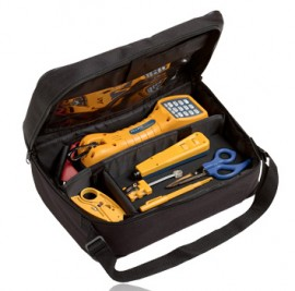Fluke Networks 11290000 Electrical Contractor Telecom Kit I with TS30 test set-