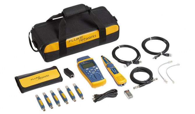 Fluke Networks Cable IQ Advanced IT Kit