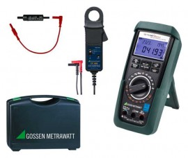 Gossen Metrawatt METRAHIT ENERGY DC-POWER SET Multimeter with PQ analyzer-
