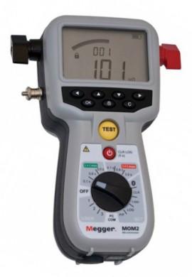 Megger BD-59090 MOM2 Micro-Ohmmeter, Kelvin Probes, 240A