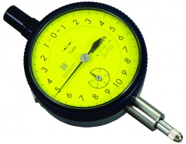 Mitutoyo 2119S-11 Series 2 ANSI/AGD Dial Indicator with lug, 5 mm, Metric-