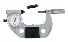 Mitutoyo 510-123 Series 510 Mechanical Indicating Micrometer, 50 to 75 mm-