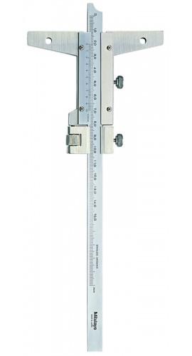 Mitutoyo 527 101 Vernier Depth Gauge 0 150mm Range 0 02mm Vernier Reading
