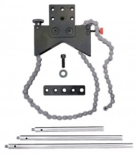 "Starrett S668A Shaft Alignment Clamp Set, 5 to 9""-"