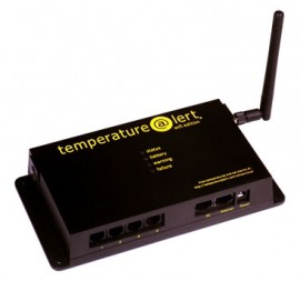 Temperature datalogger that can connect to a wifi network and sends email alerts if the - Thermometre connecte wifi ...